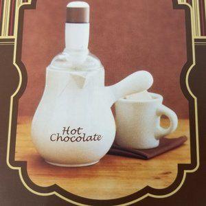 NEW Williams & Sonoma Ceramic Hot Chocolate Pot